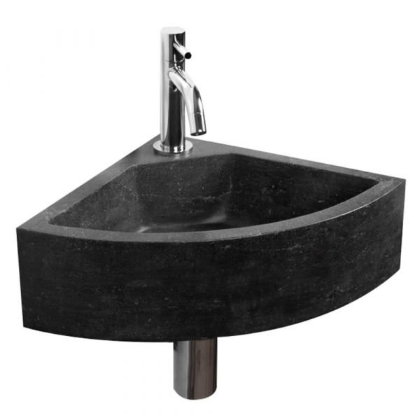 stone wall mount sink-1
