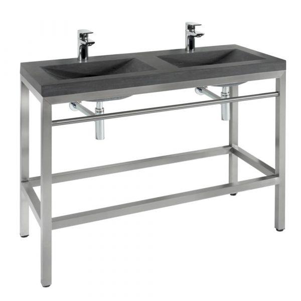 double vanity sink-3