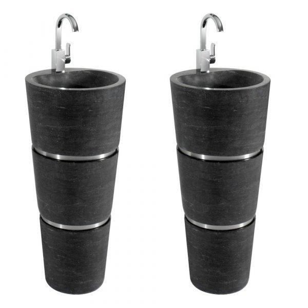 stone pedestal sink-2
