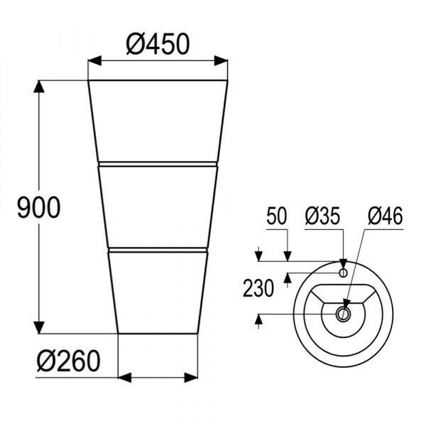stone pedestal sink-4