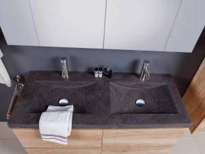 double vanity sink-1