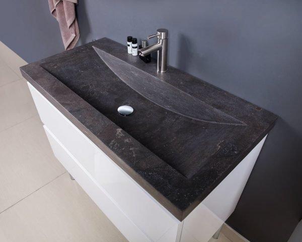stone sink vanity-1