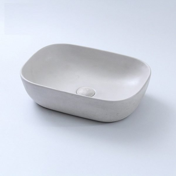 concrete sink bathroom-4