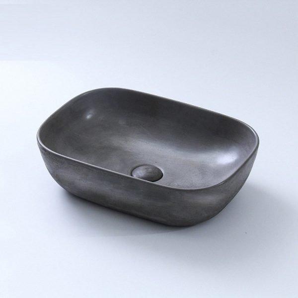 concrete sink bathroom-1