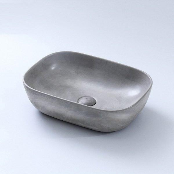 concrete sink bathroom-2