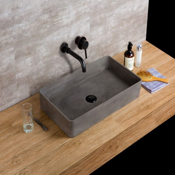 concrete basin sink-1