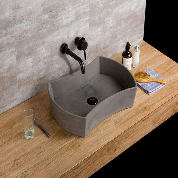 concrete sink bowl-2