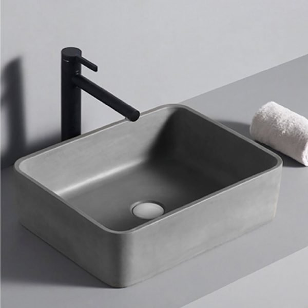 concrete wash hand basin-1