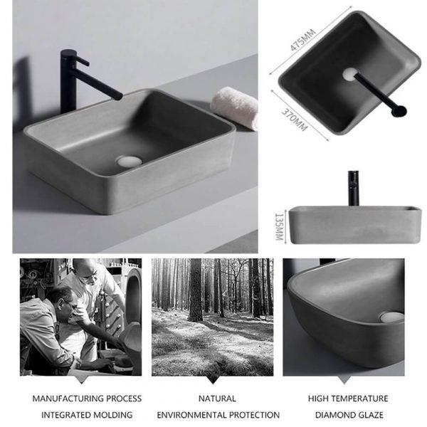 concrete wash hand basin-4