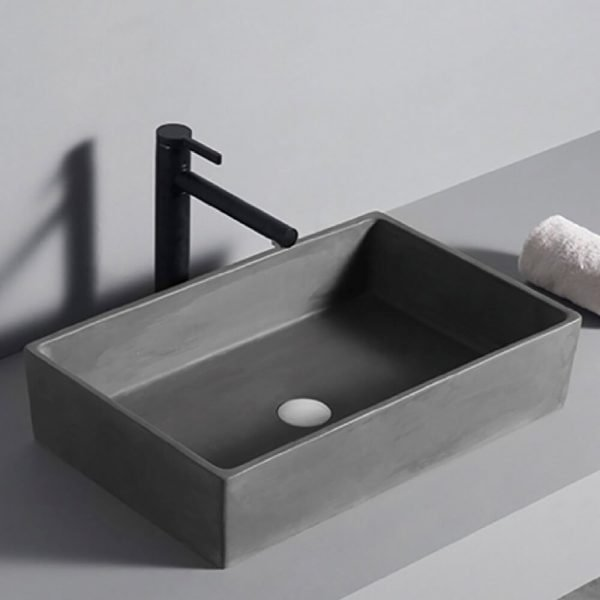 concrete basin bathroom-1
