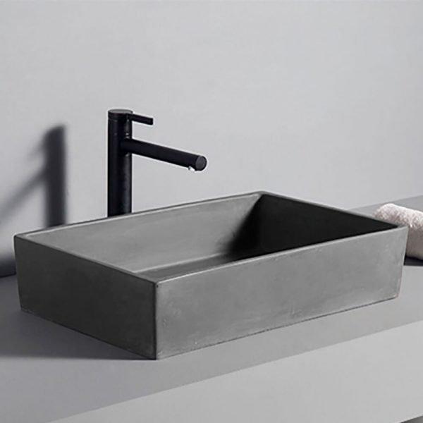 concrete basin bathroom-2