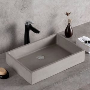 concrete vessel sink-1