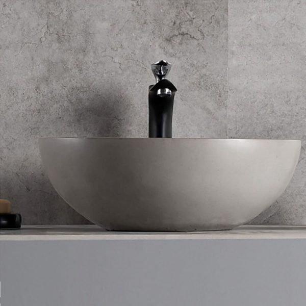 concrete bowl sink-3