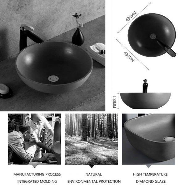 concrete bowl sink-4
