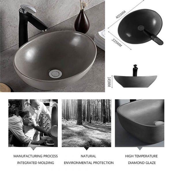 concrete sink for bathroom-4