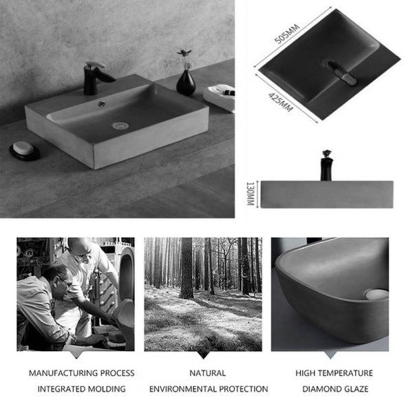 concrete wash basin for sale-4