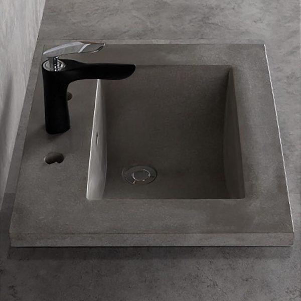 concrete undermount sink-2