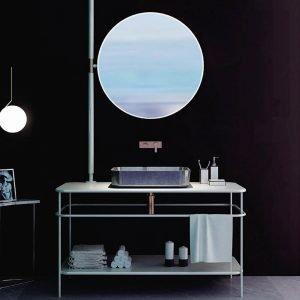 terrazzo sink bathroom-1