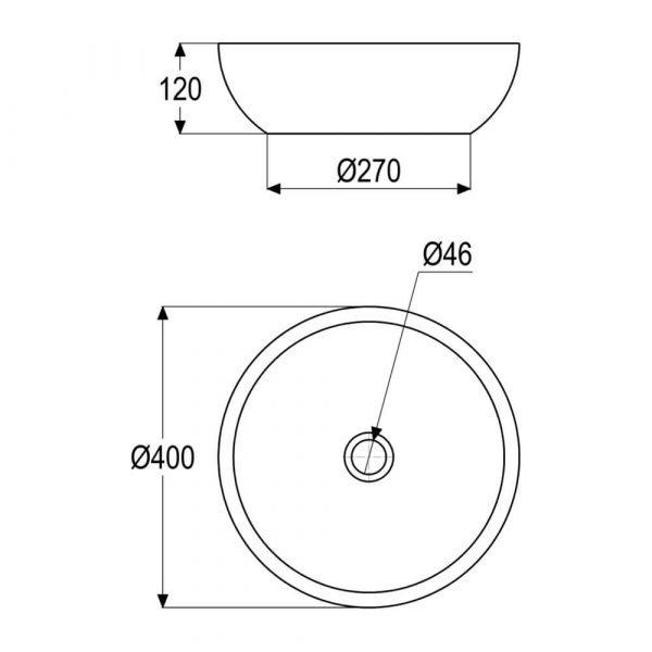 gray stone vessel sink-4