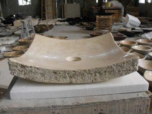 bathroom vessel sinks stone (3)