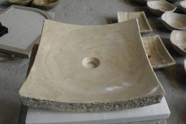 bathroom vessel sinks stone (4)