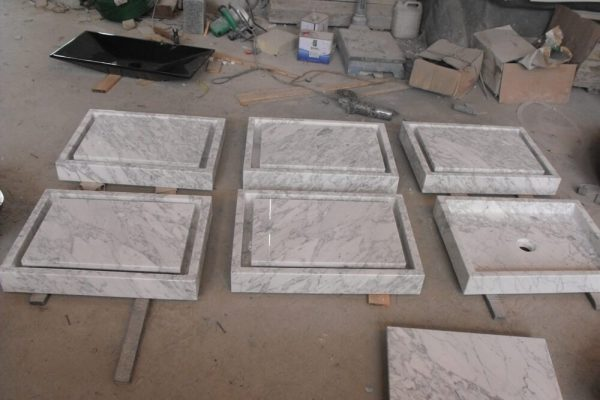 carrara marble vessel sinks (2)
