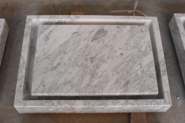 carrara marble vessel sinks (3)