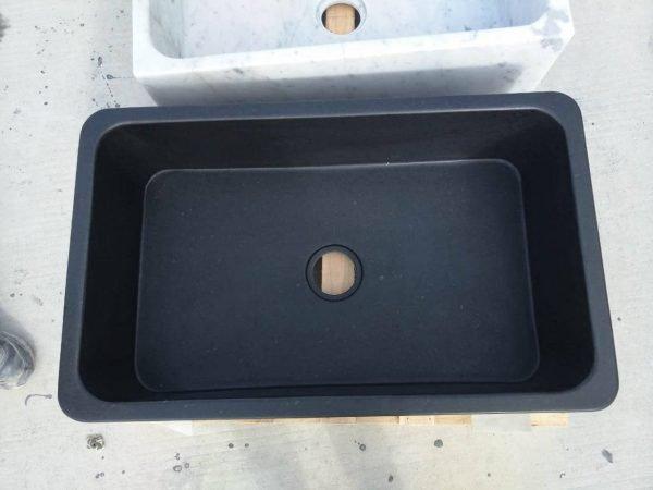 black kitchen sink undermount (3)