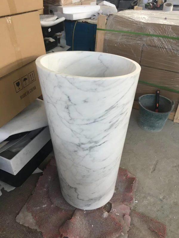 marble pedestal wash basin (1)