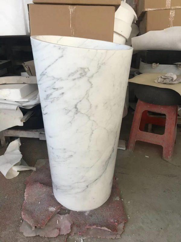 marble pedestal wash basin (2)