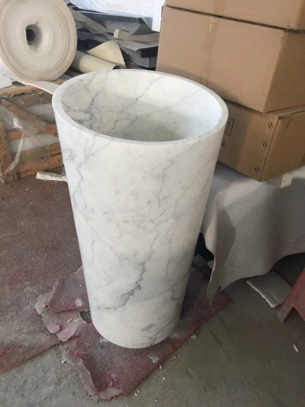 marble pedestal wash basin (3)
