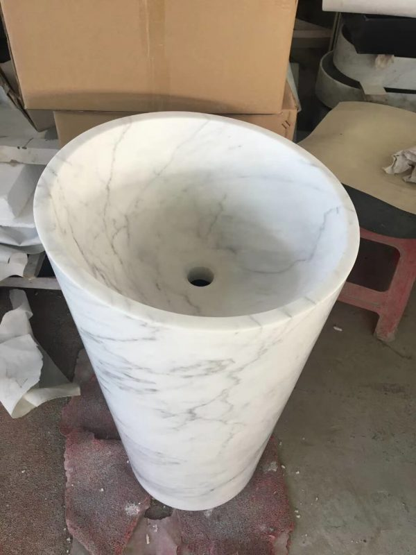 marble pedestal wash basin (4)