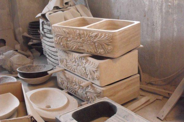 stone kitchen sink (2)