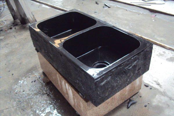 stone sink kitchen (1)