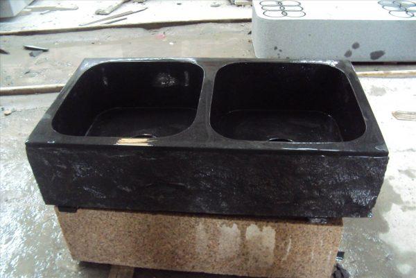 stone sink kitchen (2)