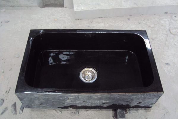 undermount black kitchen sink (3)