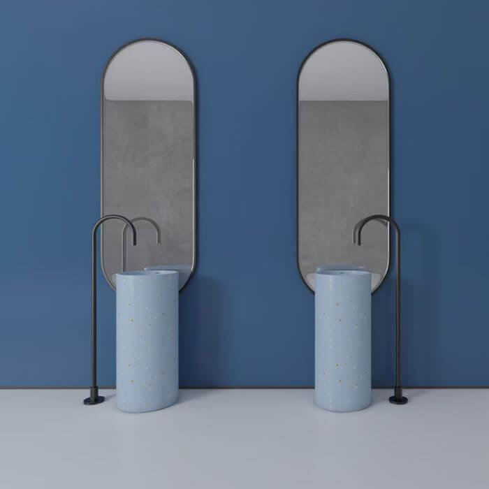 terrazzo pedestal sink (1)